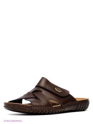 Пантолеты Best Walk. Цвет: темно-коричневый