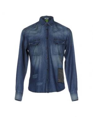 Джинсовая рубашка MACCHIA J. Цвет: синий