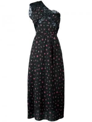 Платье Peggy Attico. Цвет: чёрный