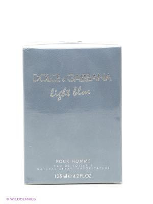 Туалетная вода Dolce&Gabbana Light Blue Pour Homme муж 125 мл DOLCE & GABBANA. Цвет: прозрачный