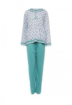 Пижама Cootaiya. Цвет: зеленый