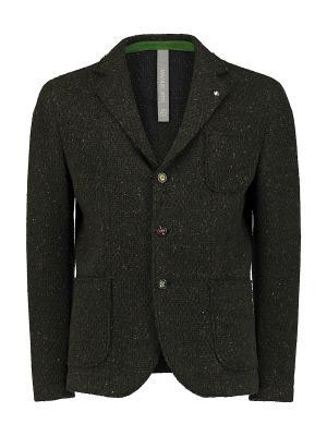 Пиджак Manuel Ritz. Цвет: темно-зеленый