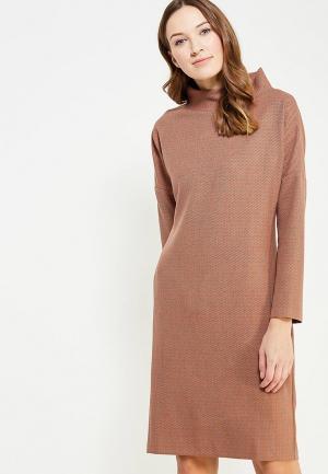 Платье Affari. Цвет: коричневый
