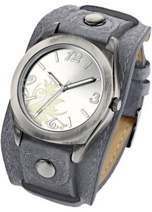 Часы Имке (светло-серый) bonprix. Цвет: светло-серый