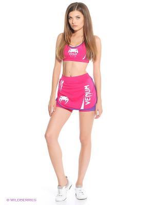 Шорты Women Body Fit Venum. Цвет: розовый