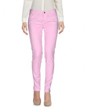 Повседневные брюки PT0W. Цвет: розовый