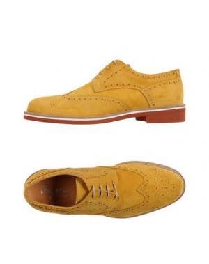 Обувь на шнурках INGRAM. Цвет: охра