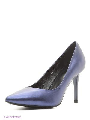 Туфли Calipso. Цвет: синий
