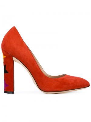 Туфли Cinderella Paula Cademartori. Цвет: красный