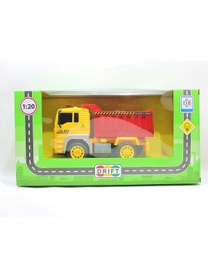 Машина Грузовик-самосвал Drift. Цвет: желтый
