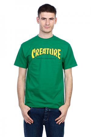 Футболка  Bible Kelly Green Creature. Цвет: зеленый