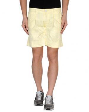 Бермуды MASON'S. Цвет: желтый