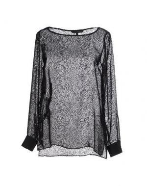 Блузка BRIAN DALES. Цвет: черный