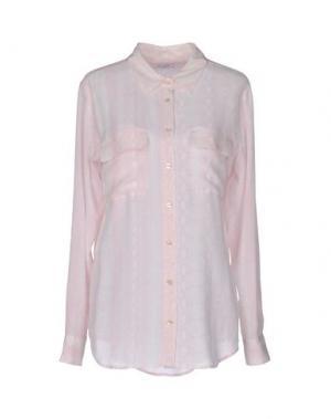 Pубашка EQUIPMENT FEMME. Цвет: светло-розовый
