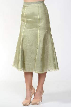 Юбка MARIA COCA. Цвет: зеленый