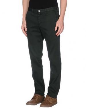 Повседневные брюки VERDERA. Цвет: темно-зеленый