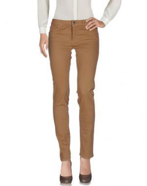 Повседневные брюки KITTE. Цвет: коричневый
