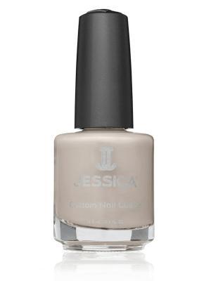 Лак для ногтей  #722 Blushing Princess, 14,8 мл JESSICA. Цвет: бежевый