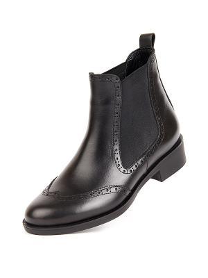 Ботинки Lottini. Цвет: черный