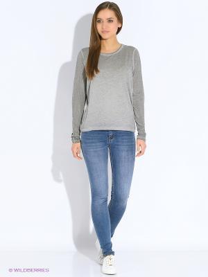 Блузка Vero moda. Цвет: серый