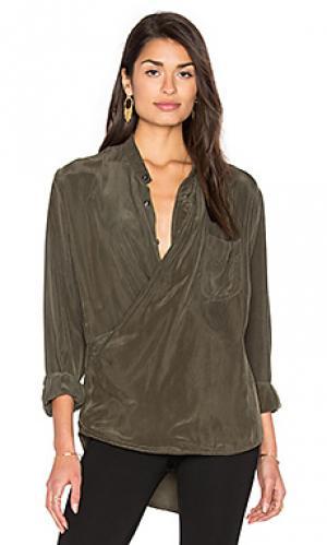 Рубашка x Stillwater. Цвет: оливковый