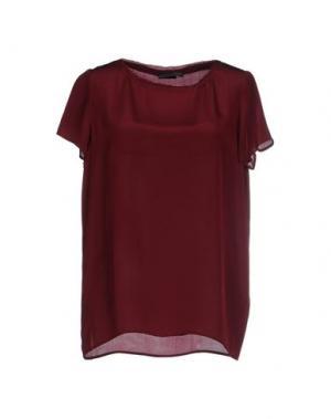 Блузка REBEL QUEEN. Цвет: пурпурный