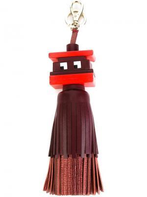 Брелок Space Invader Anya Hindmarch. Цвет: красный