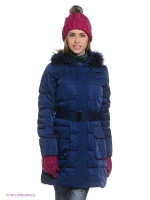 Пальто Ultra Moda. Цвет: синий