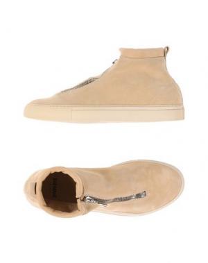 Высокие кеды и кроссовки DIEMME. Цвет: песочный
