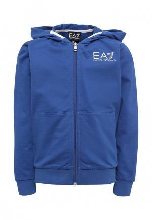 Толстовка EA7. Цвет: синий