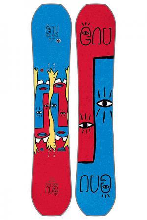 Сноуборд  Asym Fb Head Space C3 GNU. Цвет: синий,красный