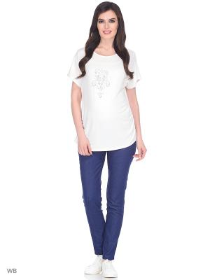 Блузка женская для беременных ФЭСТ. Цвет: молочный