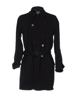 Легкое пальто HISTORIC RESEARCH. Цвет: черный