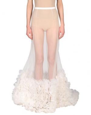 Длинная юбка ERDEM. Цвет: белый