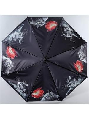 Зонт Trust. Цвет: черный, красный, серый