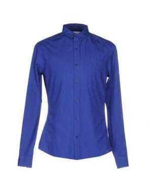 Pубашка ELEVEN PARIS. Цвет: синий