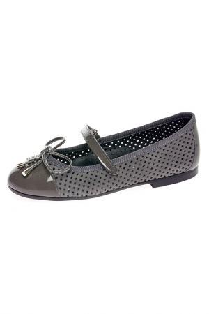 Туфли BAILELUNA. Цвет: серый