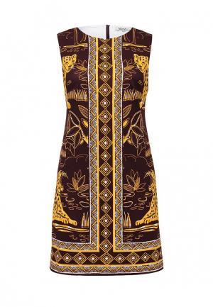 Платье MAST. Цвет: коричневый