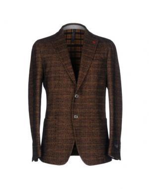 Пиджак TOMBOLINI. Цвет: хаки