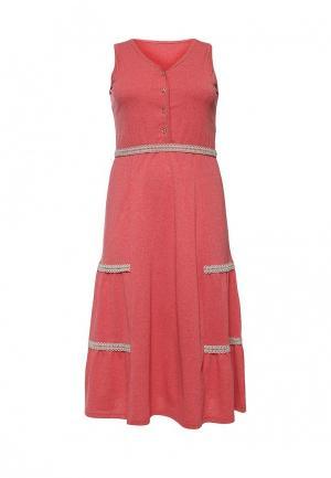 Платье домашнее Лори. Цвет: коралловый