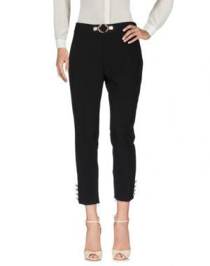 Повседневные брюки W LES FEMMES. Цвет: черный