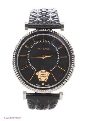 Часы Versace. Цвет: серебристый, золотистый, черный