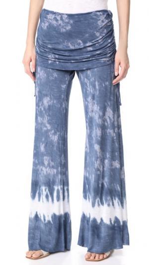 Брюки Sierra Young Fabulous & Broke. Цвет: приглушенный темно-синий