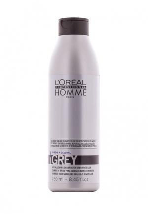 Шампунь LOreal Professional L'Oreal. Цвет: серебряный