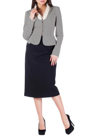 Комплект с юбкой Mannon. Цвет: бежевый