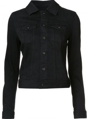 Джинсовая куртка Ag Jeans. Цвет: чёрный