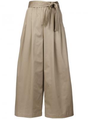 Широкие брюки Tome. Цвет: none