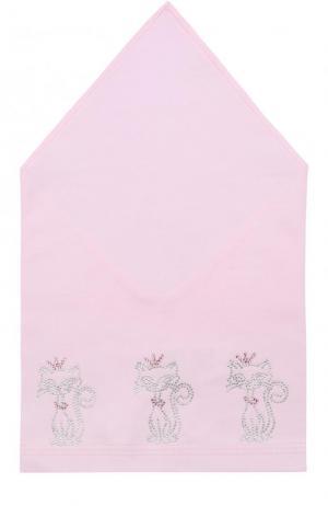Бандана со стразами Il Trenino. Цвет: розовый