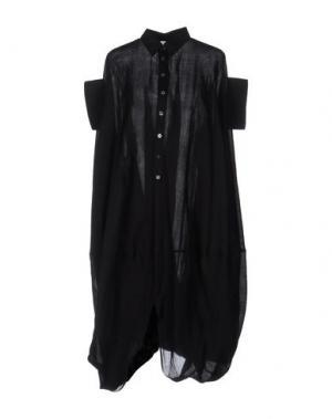 Платье длиной 3/4 JUNYA WATANABE COMME DES GARÇONS. Цвет: черный