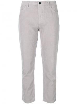 Укороченные брюки Giada Pence. Цвет: серый